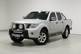 2012 Nissan Navara D40 MY12 ST-X (4x4) Silver 7 Speed Automatic Dual Cab Pick-up.