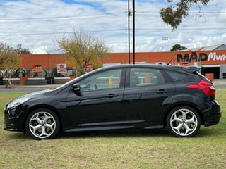 2012 Ford Focus LW MkII ST Black 6 Speed Manual Hatchback