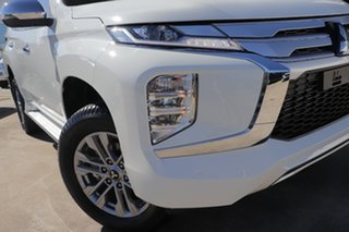 2021 Mitsubishi Pajero Sport QF MY21 GLX White 8 Speed Sports Automatic Wagon.