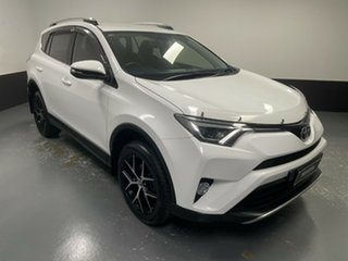 2017 Toyota RAV4 ASA44R GXL AWD White 6 Speed Sports Automatic Wagon.