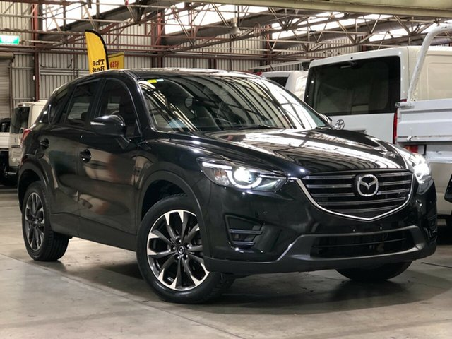 Used Mazda CX-5 KE1032 Grand Touring SKYACTIV-Drive AWD Mile End South, 2015 Mazda CX-5 KE1032 Grand Touring SKYACTIV-Drive AWD Black 6 Speed Sports Automatic Wagon