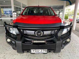 2017 Mazda BT-50 XTR Red Sports Automatic Dual Cab Utility.