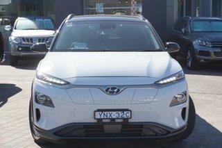 2019 Hyundai Kona OS.3 MY19 electric Highlander White 1 Speed Reduction Gear Wagon.