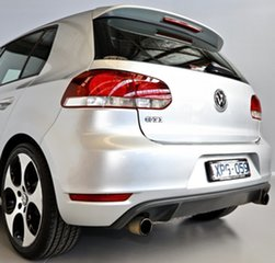 2010 Volkswagen Golf VI MY10 GTI DSG Silver 6 Speed Sports Automatic Dual Clutch Hatchback