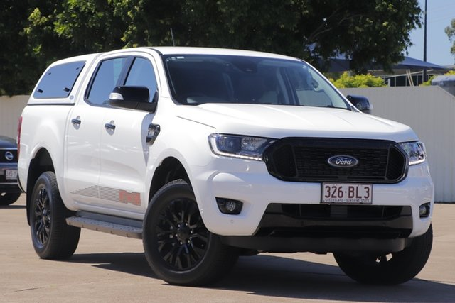 Used Ford Ranger PX MkIII 2020.25MY FX4 Bundamba, 2020 Ford Ranger PX MkIII 2020.25MY FX4 White 6 Speed Sports Automatic Double Cab Pick Up