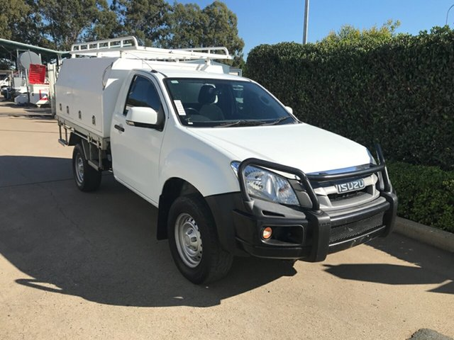 Used Isuzu D-MAX MY15 SX 4x2 High Ride Acacia Ridge, 2016 Isuzu D-MAX MY15 SX 4x2 High Ride Splash 5 speed Automatic Cab Chassis