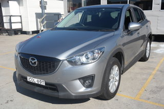 2013 Mazda CX-5 KE1031 MY13 Maxx SKYACTIV-Drive AWD Silver 6 Speed Sports Automatic Wagon.