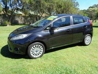 2012 Ford Fiesta WT LX PwrShift Black 6 Speed Sports Automatic Dual Clutch Hatchback
