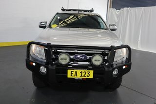 2014 Ford Ranger PX XLT Super Cab 4x2 Hi-Rider Silver 6 Speed Sports Automatic Utility