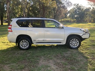 2017 Toyota Landcruiser Prado GDJ150R Altitude Crystal Pearl 6 Speed Sports Automatic Wagon