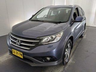 2013 Honda CR-V RM VTi-L 4WD Blue 5 Speed Automatic Wagon.