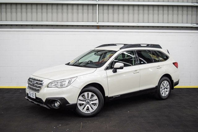 Used Subaru Outback B6A MY16 2.0D CVT AWD Canning Vale, 2015 Subaru Outback B6A MY16 2.0D CVT AWD White 7 Speed Constant Variable Wagon