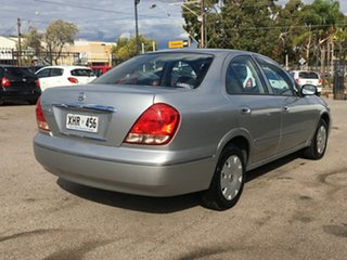2005 Nissan Pulsar N16 S2 MY2004 ST Silver 4 Speed Automatic Hatchback.