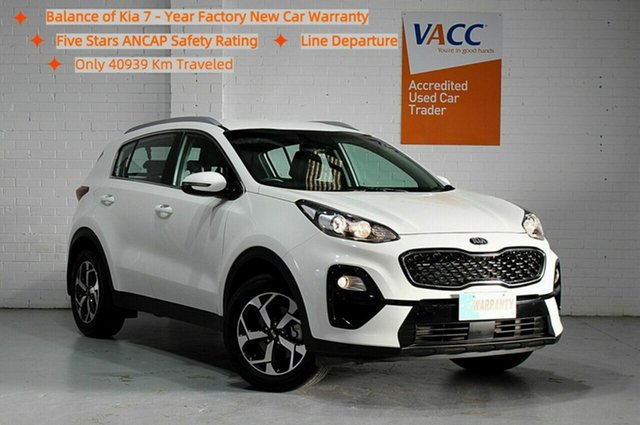 Used Kia Sportage QL MY19 Si 2WD Moorabbin, 2019 Kia Sportage QL MY19 Si 2WD White 6 Speed Sports Automatic Wagon