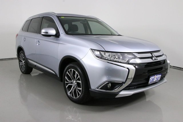 Used Mitsubishi Outlander ZK MY17 LS (4x2) Bentley, 2017 Mitsubishi Outlander ZK MY17 LS (4x2) Silver Continuous Variable Wagon
