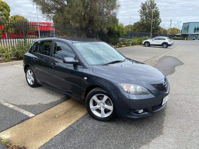 Used Mazda 3 BK10F1 Neo Mile End, 2005 Mazda 3 BK10F1 Neo Grey 4 Speed Sports Automatic Hatchback