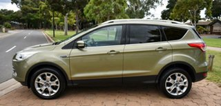 2013 Ford Kuga TF Trend PwrShift AWD Green 6 Speed Sports Automatic Dual Clutch Wagon