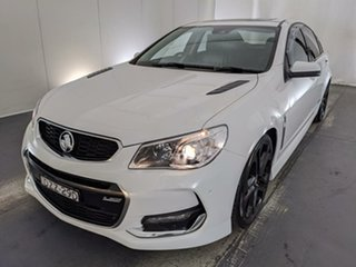 2016 Holden Commodore VF II MY16 SS V Redline White 6 Speed Manual Sedan