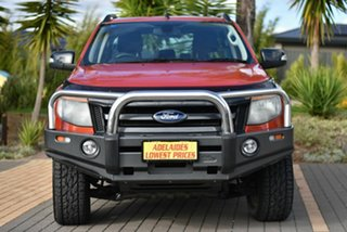 2013 Ford Ranger PX Wildtrak Double Cab Orange 6 Speed Sports Automatic Utility.