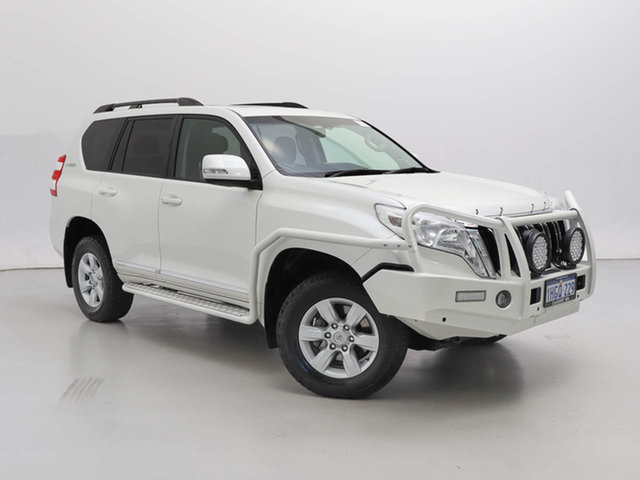 Used Toyota Landcruiser Prado KDJ150R MY14 Altitude (4x4), 2014 Toyota Landcruiser Prado KDJ150R MY14 Altitude (4x4) White 5 Speed Sequential Auto Wagon
