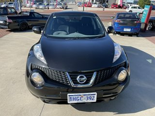 2015 Nissan Juke F15 Series 2 ST (FWD) Black Continuous Variable Wagon.