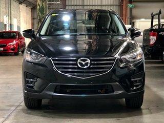 2015 Mazda CX-5 KE1032 Grand Touring SKYACTIV-Drive AWD Black 6 Speed Sports Automatic Wagon.
