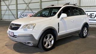 2007 Holden Captiva CG Maxx AWD White 5 Speed Sports Automatic Wagon.