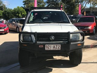 2003 Holden Rodeo RA LX Crew Cab White 5 Speed Manual Utility