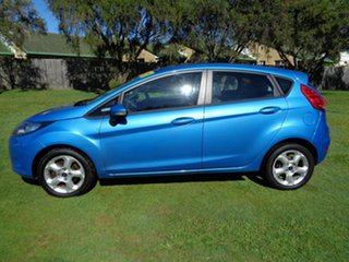 2010 Ford Fiesta WS LX Blue 5 Speed Manual Hatchback.