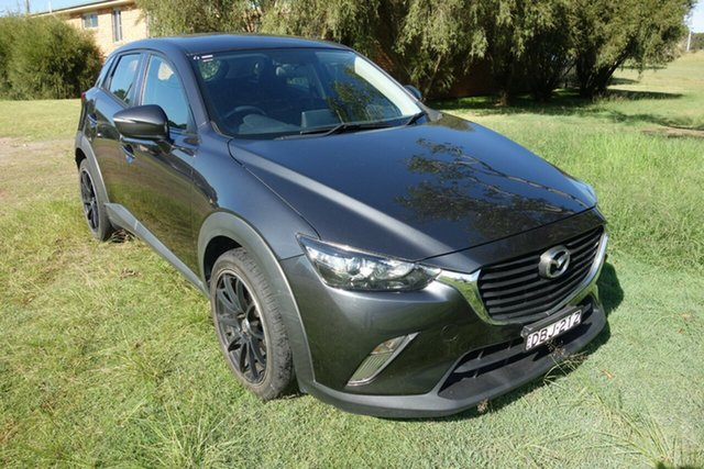 Used Mazda CX-3 DK2W76 Maxx SKYACTIV-MT East Maitland, 2015 Mazda CX-3 DK2W76 Maxx SKYACTIV-MT Grey 6 Speed Manual Wagon