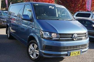 2016 Volkswagen Transporter T6 MY16 TDI400 LWB Acapulco Blue 6 Speed Manual Van.
