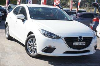 2014 Mazda 3 BM5478 Maxx SKYACTIV-Drive White 6 Speed Sports Automatic Hatchback.