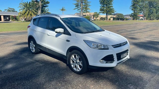 Used Ford Kuga TF MY16.5 Trend AWD Port Macquarie, 2016 Ford Kuga TF MY16.5 Trend AWD White 6 Speed Sports Automatic Wagon