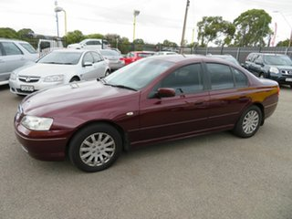 2004 Ford Fairmont BA MkII Red 4 Speed Auto Seq Sportshift Sedan