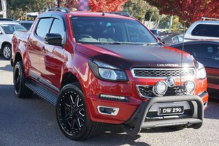 2015 Holden Colorado RG MY16 Z71 Crew Cab Red 6 Speed Sports Automatic Utility.