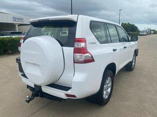 2016 Toyota Landcruiser Prado GDJ150R GX White/180416 6 Speed Sports Automatic Wagon.
