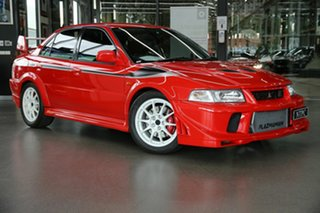 2000 Mitsubishi Lancer CP 9A Evolution VI Red 5 Speed Manual Sedan.