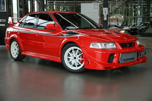 Used Mitsubishi Lancer CP 9A Evolution VI North Melbourne, 2000 Mitsubishi Lancer CP 9A Evolution VI Red 5 Speed Manual Sedan