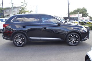 2016 Mitsubishi Outlander ZK MY17 LS 4WD Safety Pack Black 6 Speed Sports Automatic Wagon.