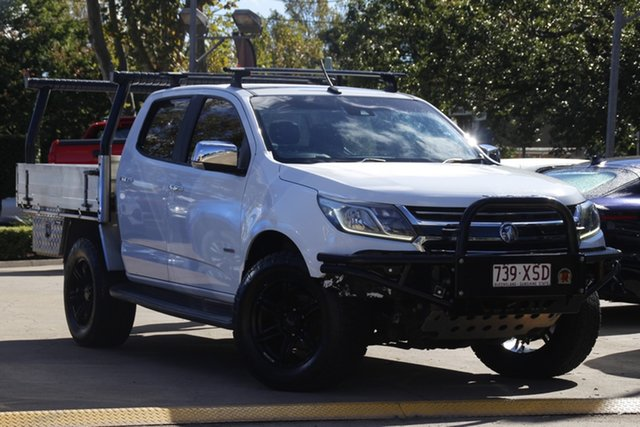 Used Holden Colorado RG MY17 LTZ Pickup Crew Cab Toowoomba, 2016 Holden Colorado RG MY17 LTZ Pickup Crew Cab White 6 Speed Manual Utility