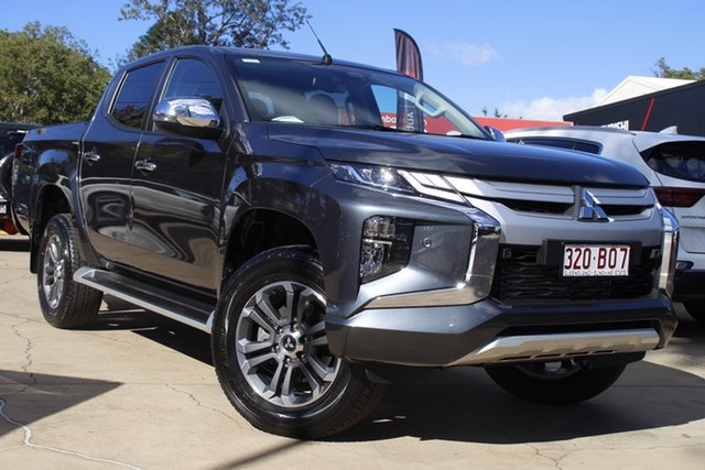 Used Mitsubishi Triton MR MY21 GLS Double Cab Toowoomba, 2021 Mitsubishi Triton MR MY21 GLS Double Cab Grey 6 Speed Sports Automatic Utility