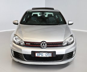 2010 Volkswagen Golf VI MY10 GTI DSG Silver 6 Speed Sports Automatic Dual Clutch Hatchback.