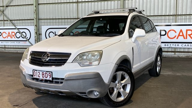 Used Holden Captiva CG Maxx AWD Rocklea, 2007 Holden Captiva CG Maxx AWD White 5 Speed Sports Automatic Wagon