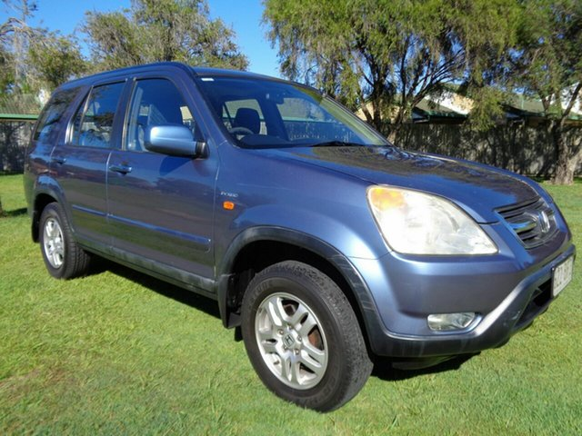 Used Honda CR-V RD MY2003 4WD Kippa-Ring, 2003 Honda CR-V RD MY2003 4WD Blue 4 Speed Automatic Wagon