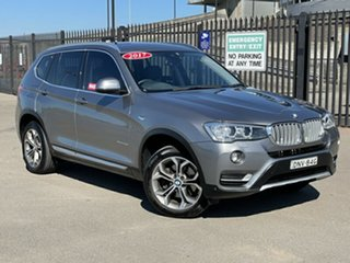 2017 BMW X3 F25 LCI xDrive20d Steptronic Grey 8 Speed Automatic Wagon