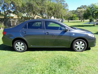 2007 Toyota Corolla ZRE152R Ascent Grey 4 Speed Automatic Sedan.