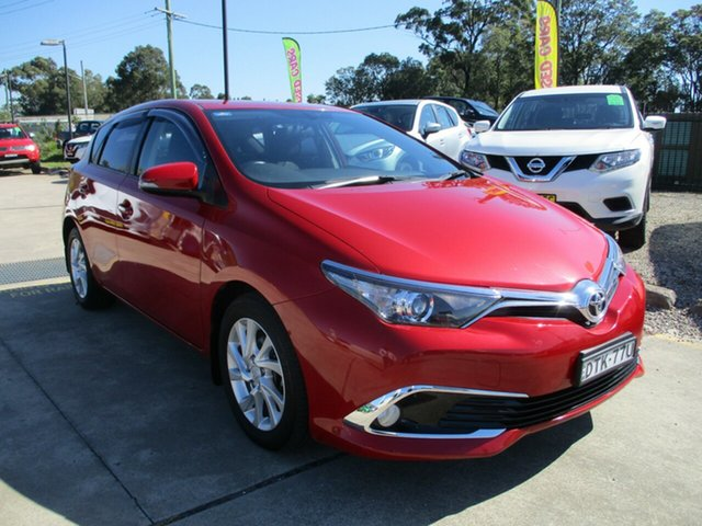 Used Toyota Corolla ZRE182R Ascent S-CVT Glendale, 2018 Toyota Corolla ZRE182R Ascent S-CVT Red 7 Speed Constant Variable Hatchback