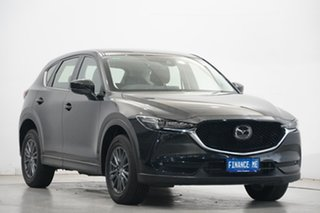 2018 Mazda CX-5 KF4W2A Touring SKYACTIV-Drive i-ACTIV AWD Black 6 Speed Sports Automatic Wagon.