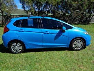 2015 Honda Jazz GF MY16 VTi-S Blue 1 Speed Constant Variable Hatchback.