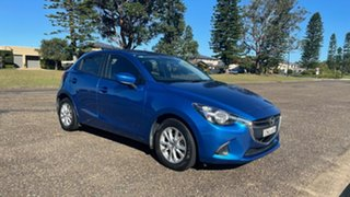 2014 Mazda 2 DE10Y2 MY14 Maxx Sport Electric Blue 4 Speed Automatic Hatchback.